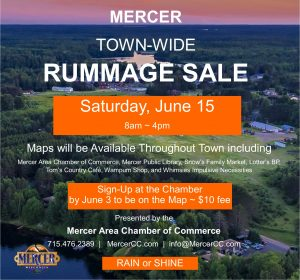 Town Wide Rummage Sale @ Through-out Town
