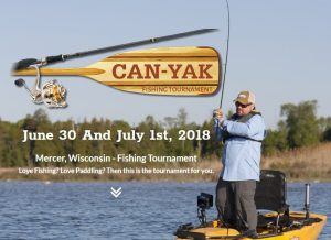 4th Annual Can-Yak Fishing Tournament @ Great Northern Hotel