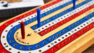 Cribbage at the Mercer Senior Center @ Mercer Senior Center
