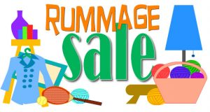 Rummage Sale Day at the Market