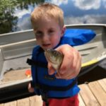 Charlie's First Fish 2017- Leffel Family Mercer Vacation