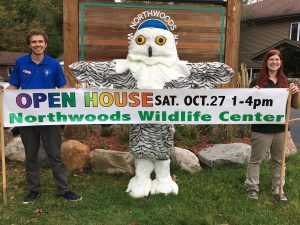Northwoods Wildlife Center's 6th Annual Fall Open House