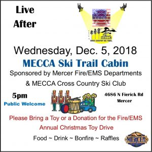Live After 5 - MECCA & Mercer Fire & Rescue @ MECCA Chalet