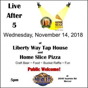 Live After 5 @ Liberty Way Tap House