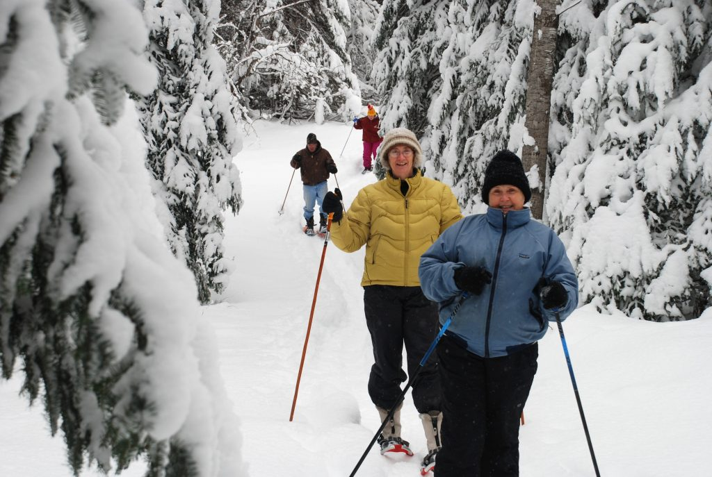 9 Snow Shoeing on the MECCA trails