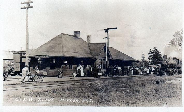 Mercer Depot from MW Historical Society