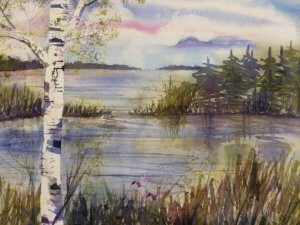 Beginner's Watercolor Painting – Northwoods Landscapes @ LOLA Center for the Arts