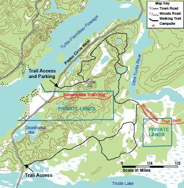 Deadhorse Trail Map
