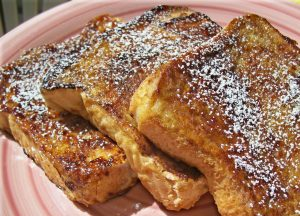 French Toast Breakfast @ Mercer School Cafeteria