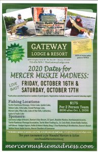 Mercer Muskie Madness Tournament - Gateway Lodge @ Gateway Lodge