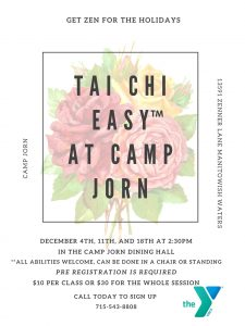 Tai Chi Easy - Camp Jorn @ Camp Jorn Dining Hall