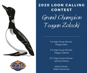 Loon Calling Contest Winners